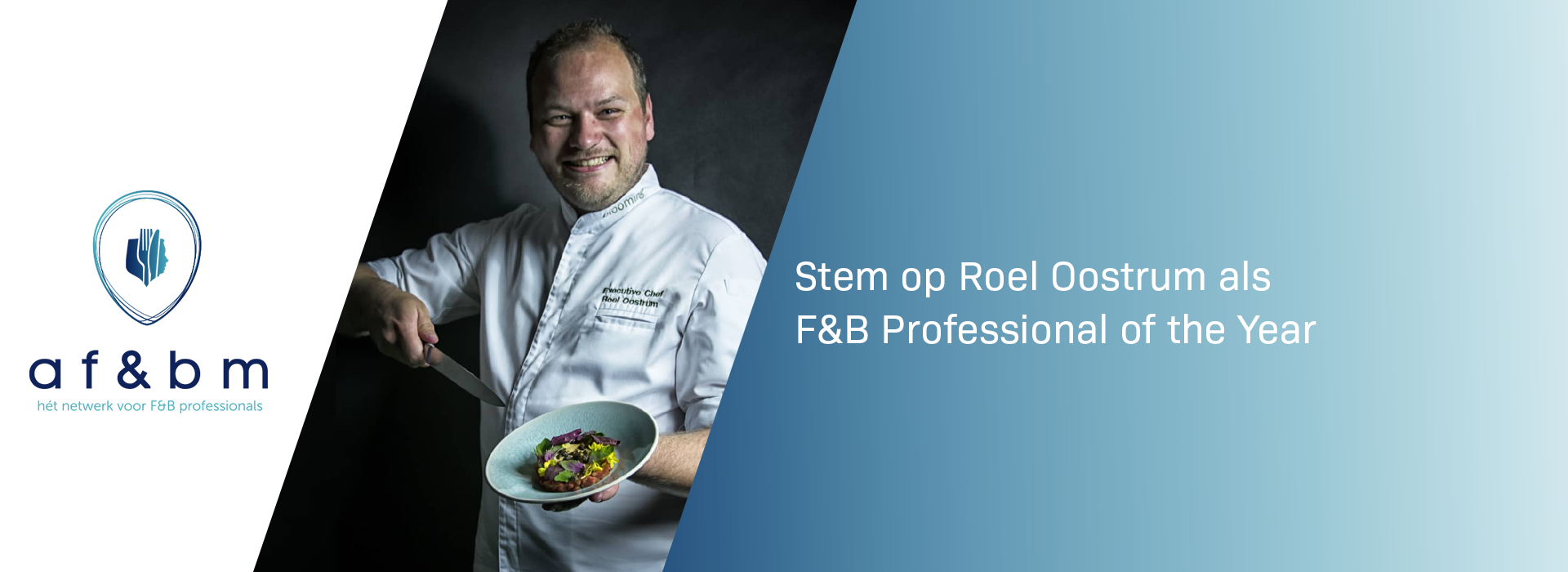 roel oostrum f&b professional of the year